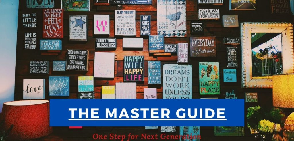 the master guide.banner